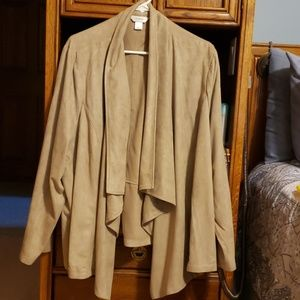 Tan Swade dress jacket
